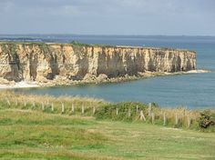 """POINTE DU HOC, Normandy, France. Site of the D-DAY battle 1944.  """"These are the boys of Pointe du Hoc; these are the men who took the cliffs"""" President Ronald Reagan June 6, 1984"""