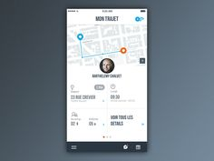 New app - Menu Interaction by Barthelemy Chalvet