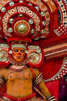 Theyyam In Kerala ! India
