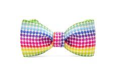 marthu self tie bow tie RAINBOW k0057