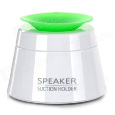 Foldabe design; Soft silicone base, to protect abrasion; With colorful suction cup; Built-in 300mAh lithium battery; Continuous using time: 6 hours; With 3 foldable gears http://j.mp/1lktDKD
