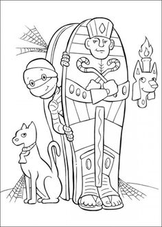 1000 images about Coloring Pages on Pinterest Monster