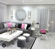 Exceptional small living room designs are available on our website. Check it out and you wont be sorry you did. Classy Living Room, Living Room Decor Cozy, Decor Room, Living Room Grey, Home Living Room, Apartment Living, Interior Design Living Room, Living Room Designs, Small Apartments