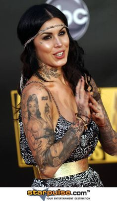 Absolutely love Kat Von D and all her great tattoos!