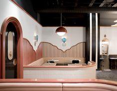 Американские декораторы оформили эклектичный бар