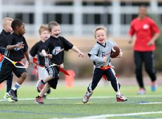 The reasons kids play sports is to have fun. and these flag football players look like their having a blast! Diet Food List, Food Lists, Easy Healthy Breakfast, Breakfast For Kids, Healthy Crockpot Recipes, Diet Recipes, Sports Football, Football Players, Video Motivation