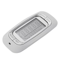 XCSOURCE Multifunction Electronic Digital 3D Pedometer Sports Tracker for Walking Steps, Calorie and Miles Counting with 7-Day Memory (White) AC355 *** Click image for more details.