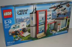 Lego City set number 4429 is the Helicopter Rescue Set with Hospital & Ambulance. A great gift idea for someone who is involved in saving the lives of people like a paramedic. FREE shipping in Canada and the United States.