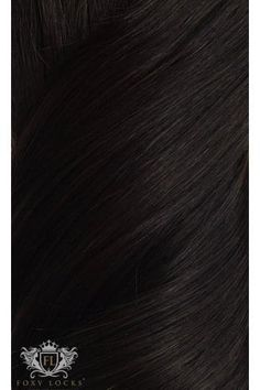 """Brown Black - Superior Seamless 22"""" Clip In Human Hair Extensions 230g"""