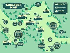 *Map is subject to change FAQ Q: What is SOULFEST?  	A: SOULFEST is New England's premier Multi-day Music Festival and Family Retreat. SOULFEST has 5 stages featuring over 75 world-renowned Christian artists and speakers. SoulFest is three days and nights of inspiring music, activities, and fe