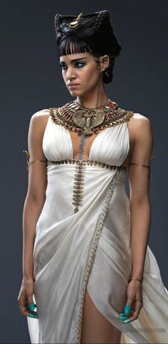 Sofia Boutella as Cleopatra Selene II, the Evil She-Wolf Queen