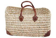One Kings Lane - Our Picks Under $50 - Open Weave Market Basket, XL
