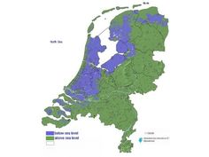 Possibilism:  The Netherlands below sea level, 20%