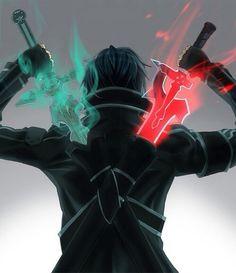 Sword art online  Dual wield