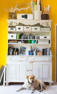 5 tips for easy upcycling in your home - The Interiors Addict Bookcase Shelves, Bookcases, Tired, Easy, Room, Interiors, Inspiration, Decor, Collection