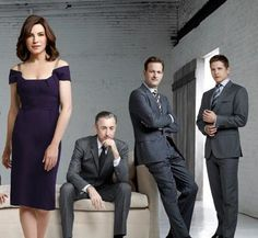 The Good Wife- love, love, LOVE this show!!