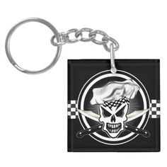 Chef Skull Key chain