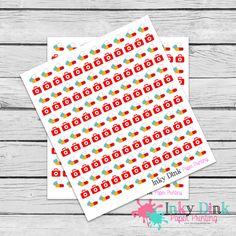 New to InkyDinkPrinting on Etsy: 142 Pill Reminder Doctor Appointment Full Sheet Planner Stickers Erin Condren Happy Planner Sticker Sampler EC Life Planner FS-28 (5.00 USD)