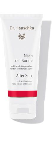 Dr Hauschka After Sun - cool and hydrating, this wonder product is so good that my husband pinches it! On offer at £14 during June!