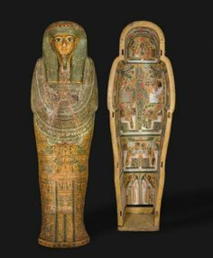 Coffin of Bakenmutc. BCPart of a set. See all partsEgypt, Thebes, Third Intermediate Period, late Dynasty 21 BC) to early Dynasty BC)Gessoed and painted sycamore fig Ancient Egyptian Artifacts, Ancient Aliens, Ancient History, European History, Art History, American History, Egypt Mummy, Egyptian Mythology, Egyptian Goddess