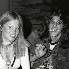 Glenn Frey with former Playboy Playmate Lynn Schiller