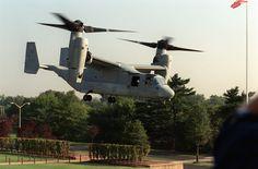 MV-22 Landing at the Pentagon