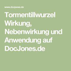 Tormentillwurzel Wirkung, Nebenwirkung und Anwendung auf DocJones.de