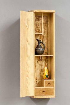 Chestnut Wall Cabinet « The Krenov School of Fine Furniture Cabinet Furniture, Fine Furniture, Unique Furniture, Furniture Projects, Furniture Making, Small Woodworking Projects, Small Wood Projects, Woodworking Furniture, Diy Projects
