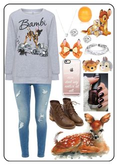 """Today #502"" by jessawilhelm ❤ liked on Polyvore featuring Ted Baker, Yoek, Casetify, Disney, Links of London, West Coast Jewelry and River Island"