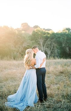 Romantic Hillside Anniversary Photos - Inspired By This #weddingphotography