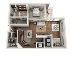 Apartment Layout, Apartment Design, Secret Rooms, Cute House, Easy Home Decor, Tiny Living, Open Floor, Sims 4, Apartments
