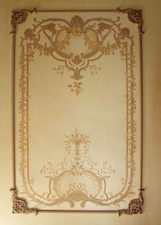 Beaux-Arts Georgian Wall Panels with our Georgian hand painted canvas panels. Classic Home Decor, Classic House, Wall Painting Decor, Wall Paintings, French Walls, Hand Painted Canvas, Panel Art, French Country Decorating, Beautiful Wall