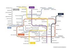 The Digital Skills Metro Map | Learning Technology News | Scoop.it Digital Technology, Educational Technology, Technology News, Metro Map, Thinking Maps, Digital Footprint, Information Literacy, Interactive Display, Digital Literacy