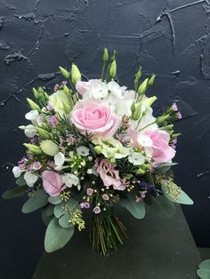 Wedding Bouquet - Olivia S. Small Wedding Bouquets, Bride Bouquets, Bridal Flowers, Bridesmaid Bouquet, Floral Bouquets, Floral Wedding, Bouquet Wedding, Faux Flowers, Pink Flowers