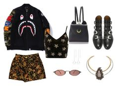 """""""Up & down"""" by broken-souls on Polyvore featuring mode, Alexander McQueen, Topshop, Givenchy, Keishi Jewellery et WithChic"""