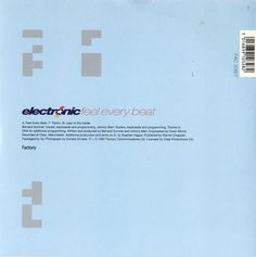 """For Sale - Electronic Feel Every Beat UK  7"""" vinyl single (7 inch record) - See this and 250,000 other rare & vintage vinyl records, singles, LPs & CDs at http://eil.com"""