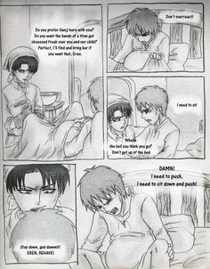 Shingeki no kyojin erenxlevi mpreg part 5