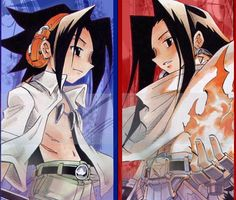 Hao and Yoh Asakura (twin brothers)