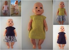 For en god stund siden så jeg en oppskrift på en kjole til Babyborn som var så fin. Jeg måtte lete litt etter den for å finne den igjen, me...