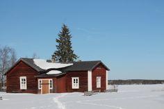 Kalle Päätalon kotitalolla Jokijärven kylällä
