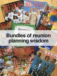 Bundles of reunion planning wisdom Icebreaker Activities, Ice Breakers, T Shirt Diy, Fundraising, Cyber, Saving Money, Just For You, Thing 1, Wisdom