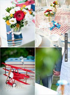 airplane wedding ideas   VIA #WEDDINGPINS.NET