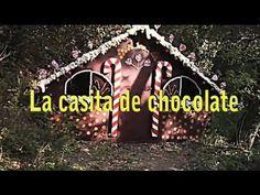 cuentos infantiles: Hansel y Gretel . La casita de chocolate