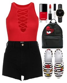 """Untitled #35"" by jarzembovska555 on Polyvore featuring BP., WithChic, River Island, Chiara Ferragni, Chanel, ROSEFIELD, MAC Cosmetics and Topshop"