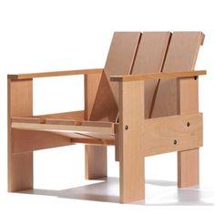 krathout stoel, by Gerrit Rietveld