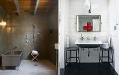 industrial bathroom design - Szukaj w Google