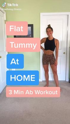 Slim Waist Workout, Workout For Flat Stomach, Belly Fat Workout, Stomach Workouts At Home, At Home Workouts, Stomach Exercises, Butt Workouts, Gym Workout Videos, Gym Workout For Beginners