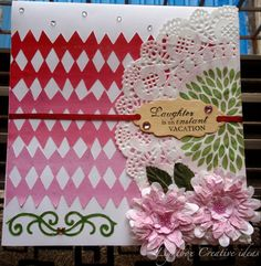 Ombre card - Indian Craft Room