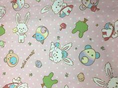 Sanrio Wish Me Mell kawaii  print fabric Oversized Fat Quarter