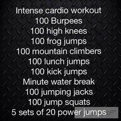 100 reps - what a really lovely round number....